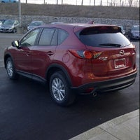 Photo taken at Forbes Waterloo Mazda by Ty W. on 3/16/2012