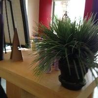 Photo taken at Bellafonte Aveda Salon by Tasha P. on 5/12/2012