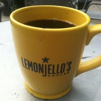 Photo taken at Lemonjello's Coffee by Tom F. on 6/30/2012