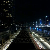 Photo taken at Stadium - Chinatown SkyTrain Station by Gareth C. on 2/10/2012