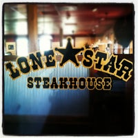 Photo taken at Lone Star Steakhouse & Saloon by Mahli A. on 8/4/2012