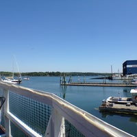 Photo taken at Lobsterman's Wharf by Monika M. on 7/12/2012