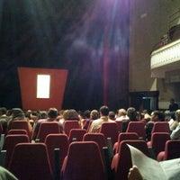 Photo taken at Teatro Dulcina by Midori F. on 8/31/2012