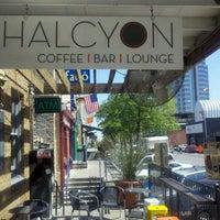 Photo taken at Halcyon Coffee, Bar & Lounge by Tim H. on 3/26/2012