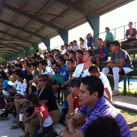 Photo taken at Unidad Deportiva Talaverna by Raymundo R. on 6/16/2012