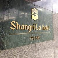 Photo taken at Shangri-La Hotel by Marielle B. on 7/26/2012