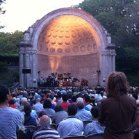 Photo taken at Naumburg Bandshell by John H. on 7/25/2012