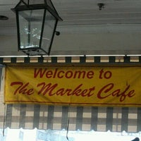 Photo taken at The Market Cafe by Felicia T. on 6/2/2012