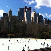 Photo taken at Wollman Rink by Trish J. on 2/23/2012
