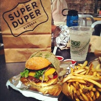Photo taken at Super Duper Burger by Aaron L. on 5/1/2012