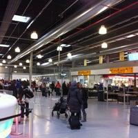 Photo taken at Frankfurt-Hahn Airport (HHN) by Manuel D. on 4/21/2012