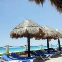 Photo taken at Barceló Tucancún Beach by Axel G. on 9/11/2012