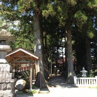 Photo taken at 塩原八幡宮 by SugimotoTaxi on 5/7/2012