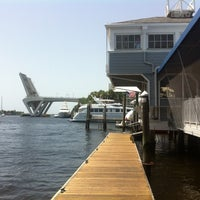 Photo taken at 15th Street Fisheries & Fisheries Dockside by VISIT FLORIDA Entertainment & Luxury Insider on 7/29/2012