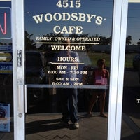 Photo taken at Woodsby's Countryside Cafe by Marvin M. on 9/8/2012