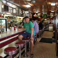 Photo taken at Four Aces Diner by Hans Peter R. on 7/14/2012