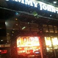 Photo taken at Jimmy John's by Derek F. on 2/8/2012