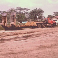 Photo taken at Head Office PT. United Tractors site Adaro by Fauzi A. on 8/4/2012