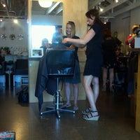 Photo taken at Emerge Modern Salon & Spa by Sarah G. on 6/8/2012