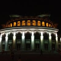 Снимок сделан в Армянский театр оперы и балета им. Спендиарова пользователем Aik S. 6/25/2012