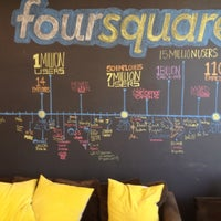 Photo taken at Foursquare HQ by Eros V. on 4/13/2012