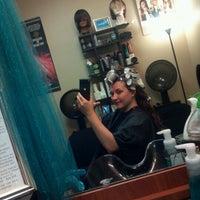 Photo taken at Darlene Smith, Creative Hair Artist by G. Maxine K. on 4/10/2012
