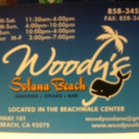 Photo taken at Woody's Solana Beach by Rosie L. on 6/2/2012
