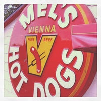 Photo taken at Mel's Hot Dogs by Cj C. on 5/6/2012