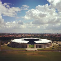 Photo taken at Olympiastadion by Didier B. on 8/26/2012