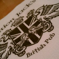 Photo taken at Union Jack's British Pub by Dion H. on 3/26/2012
