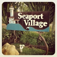 Photo taken at Seaport Village by Shaina on 4/12/2012