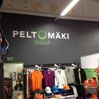 Photo taken at Peltomäki Golf by Matthew J. on 2/17/2012