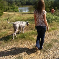 Photo taken at Shelby Farms Dog Park by Nick L. on 8/12/2012
