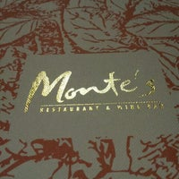 Photo taken at Monte's Restaurant Bar & Grill by Shah.E on 3/11/2012