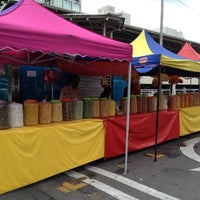 Photo taken at Pasar Malam Bangsar by san s. on 7/8/2012