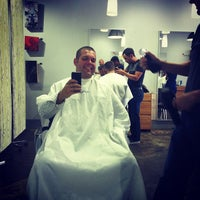 Photo taken at Crimpers Hair Salon by Tyler L. on 8/10/2012
