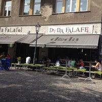 Photo taken at Dada Falafel by Din E. on 8/18/2012