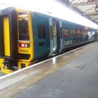 Photo taken at Aberystwyth Railway Station (AYW) by Mike B. on 9/10/2012