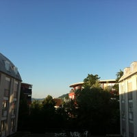 Photo taken at Goethe Gästehaus by Tanja Z. on 7/24/2012