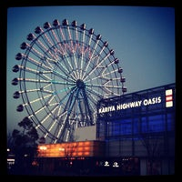 Photo taken at Kariya Highway Oasis by Chika Y. on 2/4/2012
