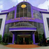 Photo taken at STMIK AMIKOM Yogyakarta by DJack M. on 8/15/2012
