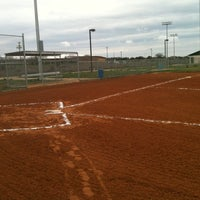 Photo taken at Kyle Kickball Fields by Sean C. on 2/10/2012