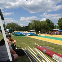 Photo taken at Southeastern Track and Field Complex by Jabari E. on 4/20/2012