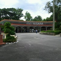 Photo taken at Zoo Negara (National Zoo) by Munira Z. on 4/8/2012