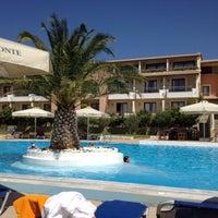 Photo taken at Negroponte Resort Eretria by Dimitris Z. on 8/26/2012