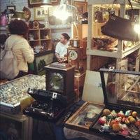Photo taken at The Garage Antique Flea Market by Soowan J. on 3/24/2012