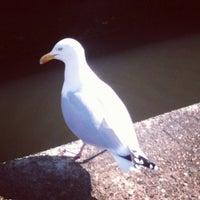 Photo taken at Camden Lock Village by Tibcsi on 4/22/2012