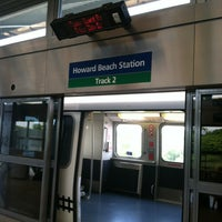Photo taken at JFK AirTrain - Howard Beach by Tawana C. on 6/18/2012