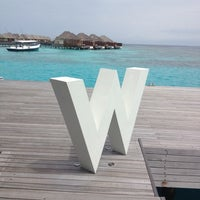 Photo taken at W Retreat & Spa - Maldives by Alan A. on 6/14/2012