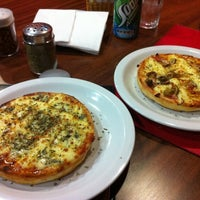 Photo taken at Super Pizza Pan by Renato F. on 3/11/2012